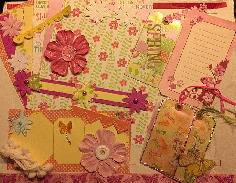 March 8x8 Easter kit from Sandra