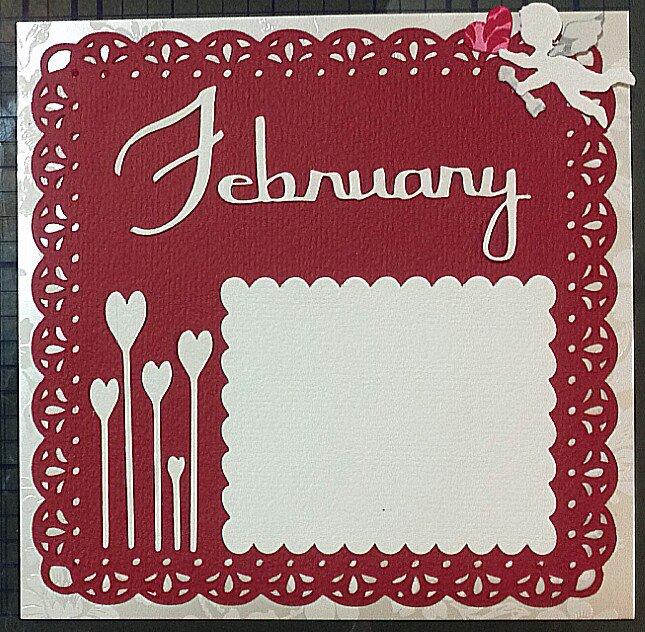 February 6x6 calendar
