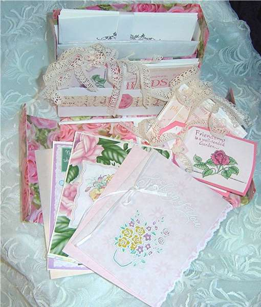 Stationary and greeting cards Box Set