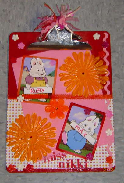 Max and Ruby clipboard
