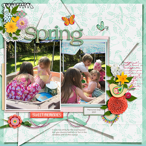 Spring in the Sandbox