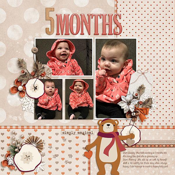 Scarlett 5 Months