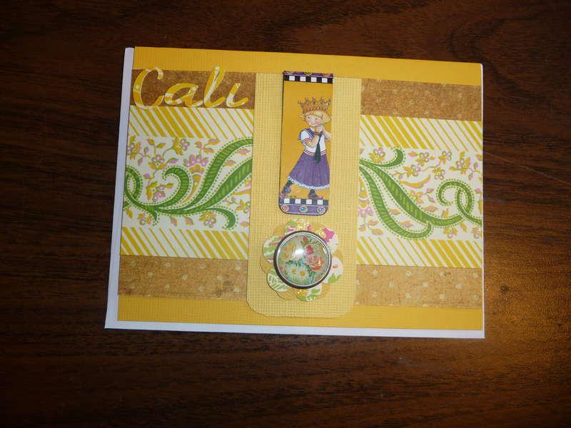 Cali's bday card