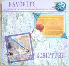 Craven's Favorite Scriptures