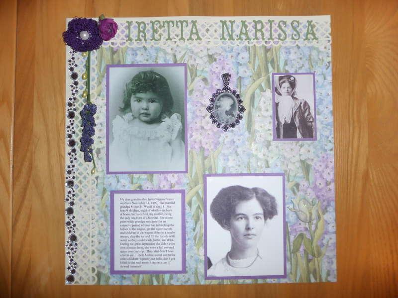 tribute to Iretta Narissa France Woolf