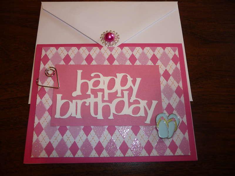 RuthAnn's bday card
