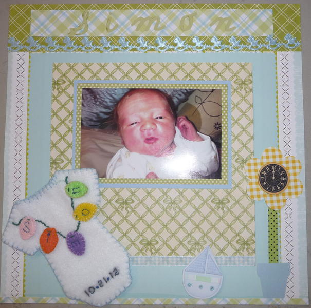 Baby Simon our 6th grandson
