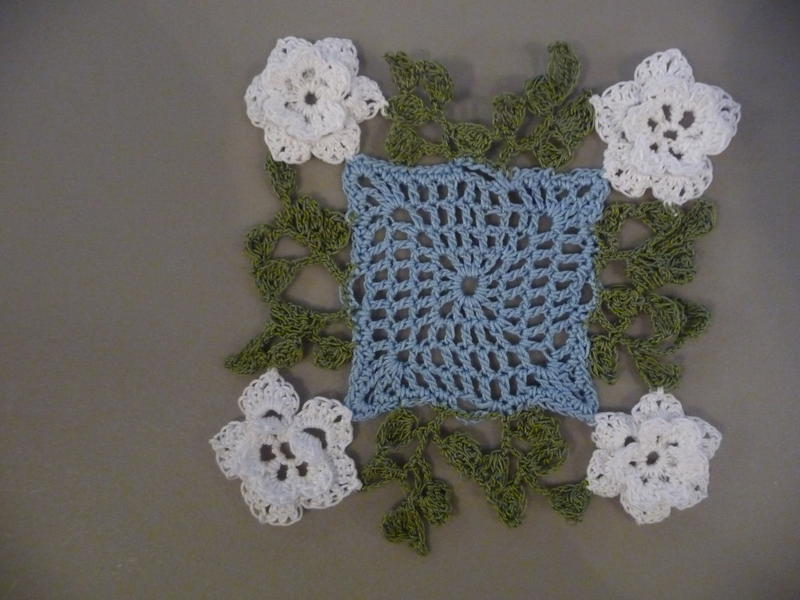 My first try at making a doily