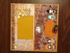 Thanksgiving leaves and wording lo