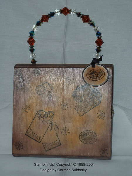 Cigar Box Purse Scrapbook