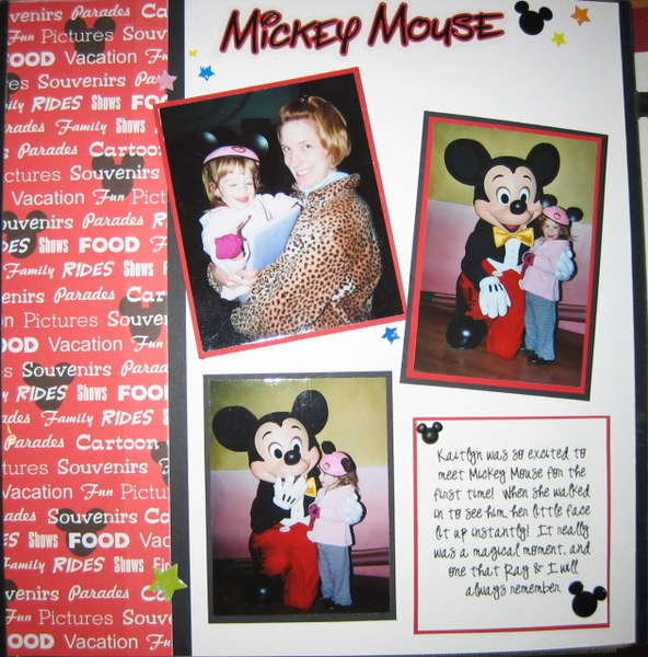 Meeting Mickey Mouse pg1
