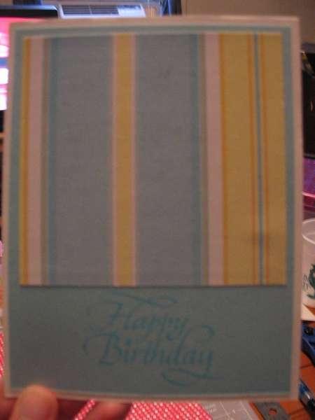 stripe birthday