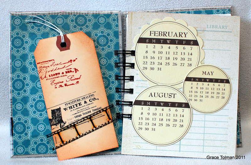 2012 Planner *Paper Bakery Dec Add On kit*2