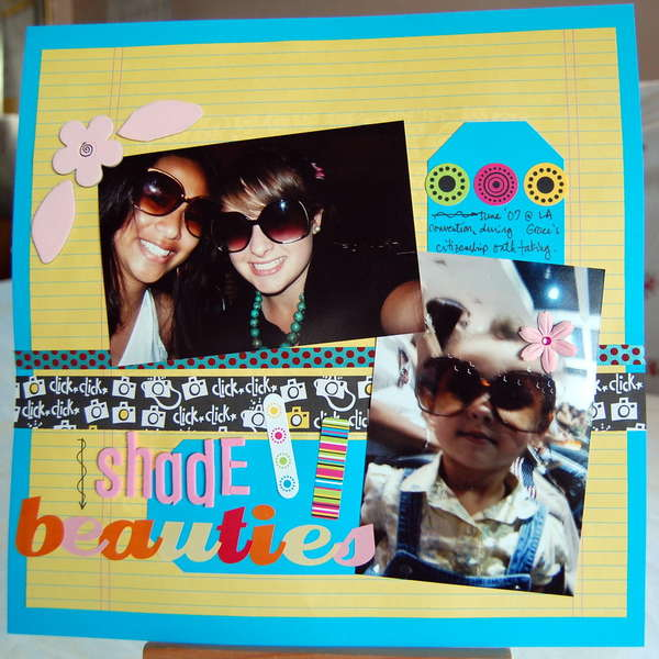 Shade Beauties *Scrapwords March kit