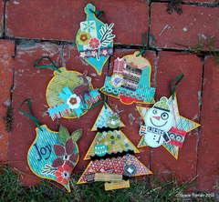 Acrylic Ornaments *Clear Scraps*