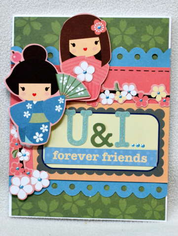 U & I card *My Little Shoebox*
