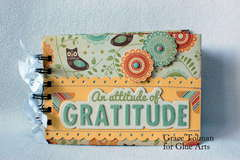 Attitude of Gratitude mini *Glue Arts*