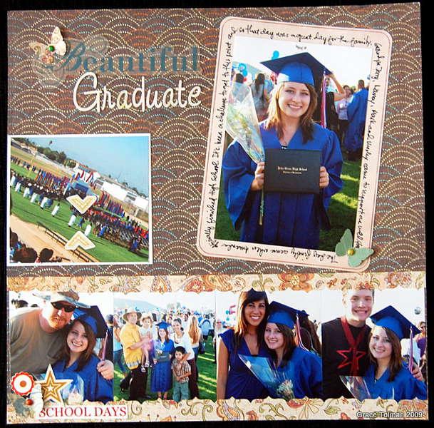 Beautiful Graduate *November Crazy Daisy kit*