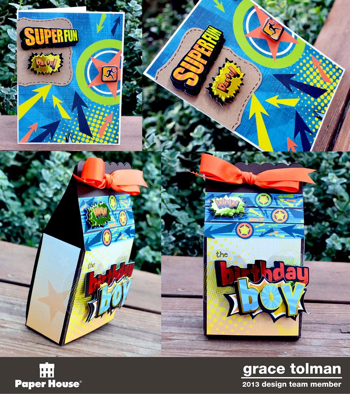 Birthday boy gift set 2*Paper House*
