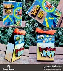 Birthday boy gift set 2*Paper House*