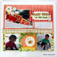 Busy bees *Clear Scraps*
