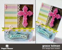 Faith card trio *Paper House* 2