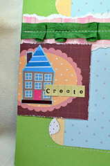Craft day *My Little Shoebox* close up