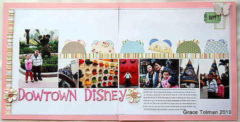 Downtown Disney *Crazy Daisy april kit*
