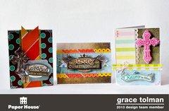 Faith card trio *Paper House*
