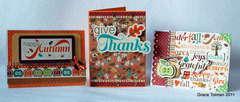 Fall card set *Glue Arts*