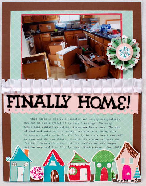 Finally Home! *Paper Bakery kit*