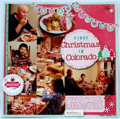 First Christmas in Colorado *Paper Bakery November add on kit*
