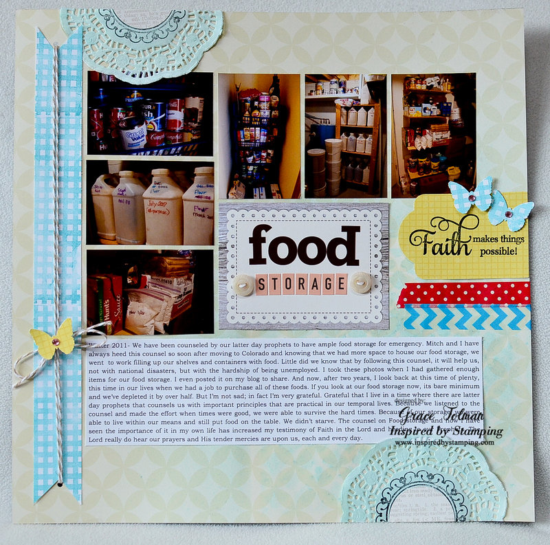 Food Storage *Inspired by Stamping*