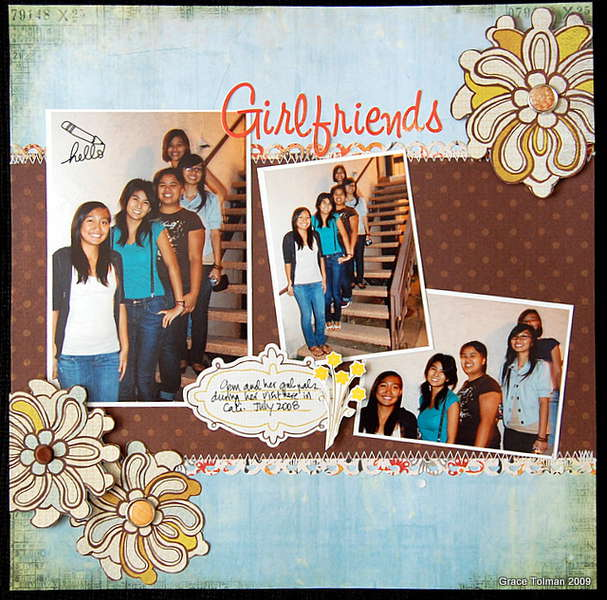 Girlfriends *November Crazy Daisy kit*