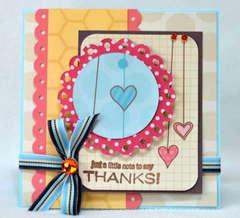 Thanks Card *My Little Shoebox*