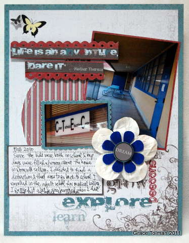 LIfe is an adventure *Upsy Daisy Designs*