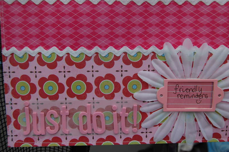 Just do it! Memo board (close up)