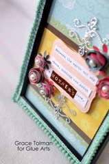 Mother Frame *Glue Arts* close up
