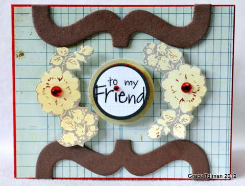 To my friend *Paper Bakery May Add On kit*