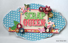 Scrap Queen board *My Little Shoebox*