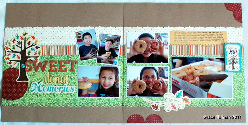 Sweet Donut Memories *Glue Arts*