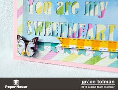 Sweetheart layout *Paper House* 4