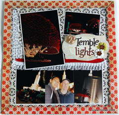 Temple lights *Clear Scraps*