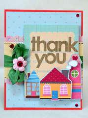 Thank you card *My Little Shoebox*