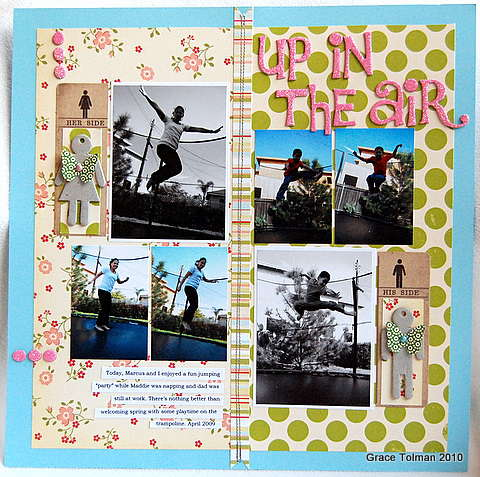 Up in the air *Crazy Daisy april kit*