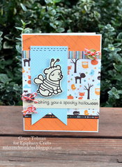 Halloween card *Epiphany Crafts*