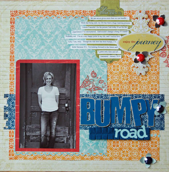 Bumpy Road *Pink Paislee 365 Degrees*