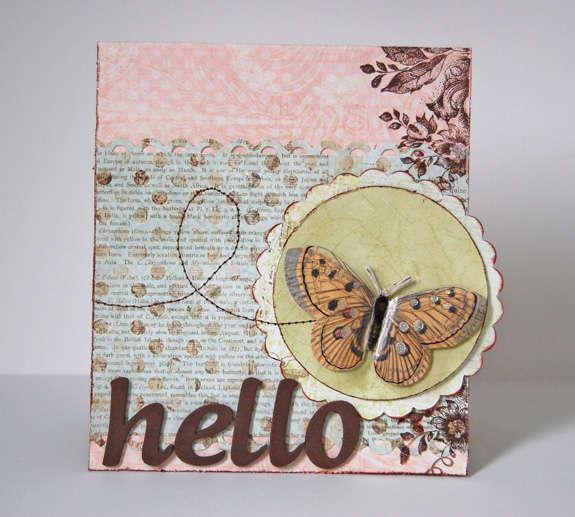 Love *Pink Paislee Butterfly Garden*