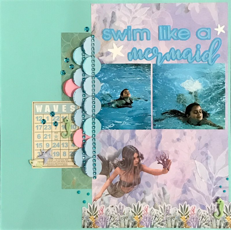 swim like a mermaid