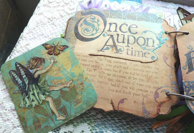 Fantasy Fairy Chipboard Mini Allbum
